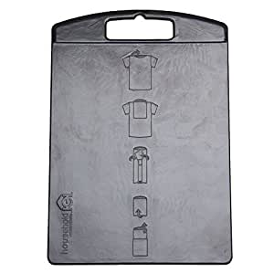 Household Essentials 195 Shirt Folding Board for Laundry | Folds T-shirts, Polos and Dress Shirts