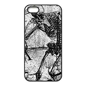 Creaive Skull Pattern Hot Seller High Quality Case Cove For Iphone 5S