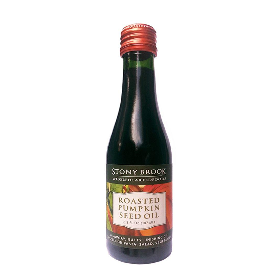 STONY BROOK WHOLEHEARTED FOODS Pumpkin Seed Oil, 6.3 Fluid Ounce