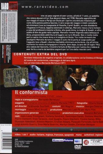 The Conformist (1970) ( Il conformista ) ( Der Konformist (Le conformiste) ) [ NON-USA FORMAT, PAL, Reg.2 Import - Italy ]