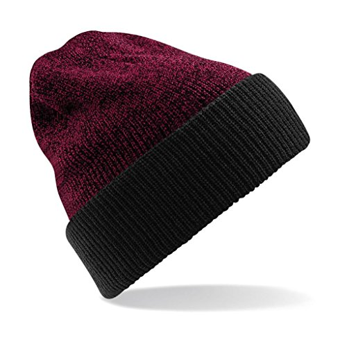 Black Beanie Burgundy Heritage Reversible Antique xAHwFqaq8