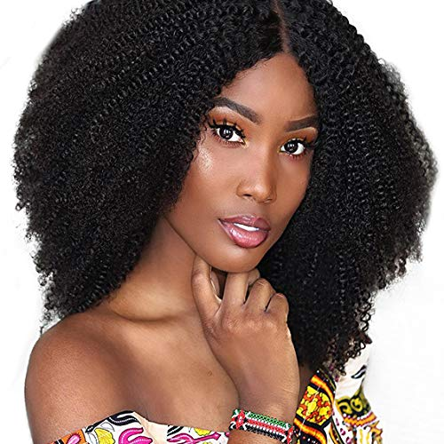SAGA QUEEN Hair Mongolian Afro Kinky Curly Clip In Hair Extensions 9pcs 20clips 120g/bundle Mongolian Virgin Remy Human Hair Clip In Hair