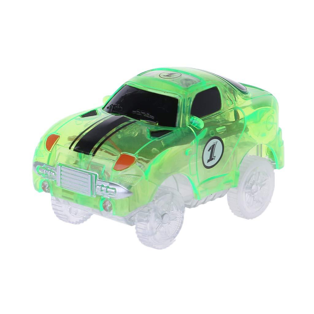 Runrain Electronics Car Track Toys 5 LED Flashing Lights Kids Boys Educational Christmas Birthday Gift