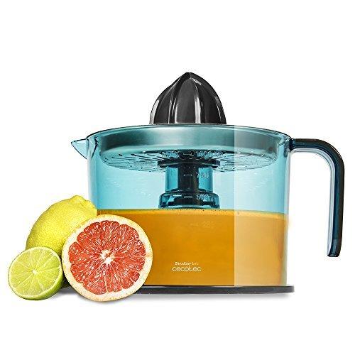 Detalles de Cecotec ZitrusEasy Inox Exprimidor eléctrico para naranjas y cítricos (Inox)
