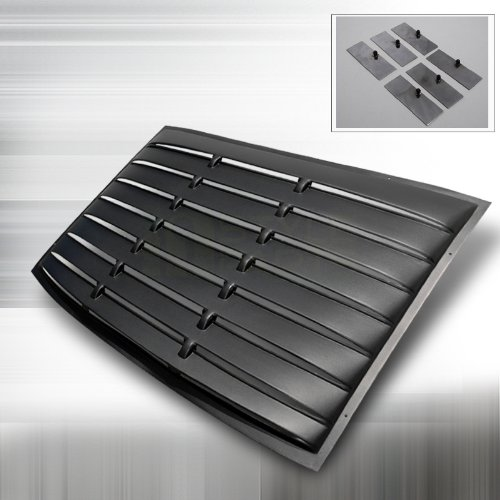 ford mustang rear window louver - 4