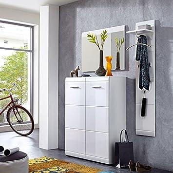Lomado Komplett Garderoben Set 3 Teilige Flurgarderobe