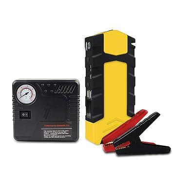 ACCDUER 600A Pico 16800mAh Coche Jump Starter, Booster de batería automática, 3,0