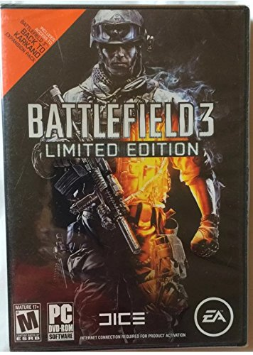 amazon com battlefield 3 limited edition everything else rh amazon com Battlefield 3 Xbox Game Battlefield 3 End Game