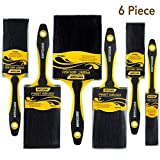 6 Piece for Important Paint Works Professional Painters Selected Paint Brush,Paint Brushes,Painters Brush,paintbrushes,Paintbrush,Painting Brush,Painting Brushes,Tool Set,Tool kit,Painters Tools