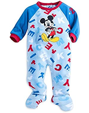 Store Mickey Mouse Snap Blanket Sleeper Footed for Baby (Mickey)