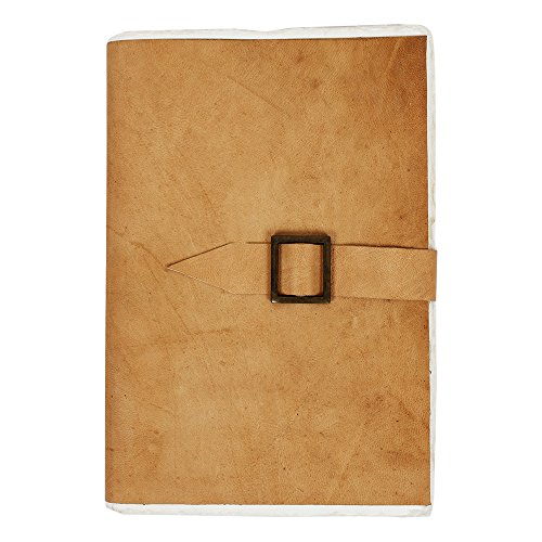 Handmade Leather Journal Unlined Notebook