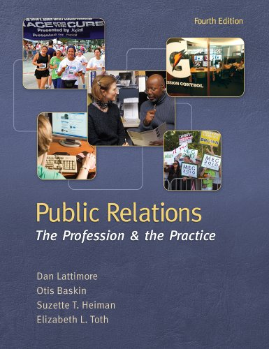 Download Public Relations:  The Profession and the Practice, 4th edition Pdf