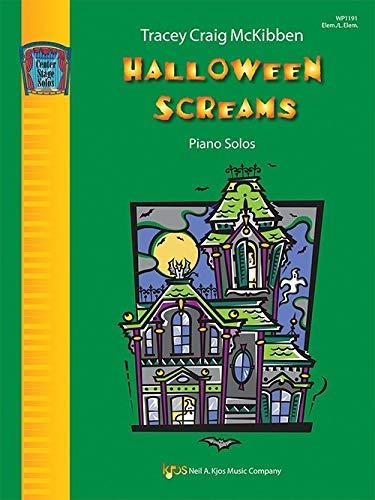 Center Stage Solos - Halloween Screams Piano Solos - Tracey Craig McKibben - Elem./L.Elem - Kjos Music Company WP1191