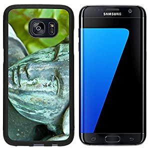 Liili Samsung Galaxy S7 Edge Aluminum Backplate Bumper Snap Case old tombstone on the Melaten cemetery in Cologne B Photo 10447111