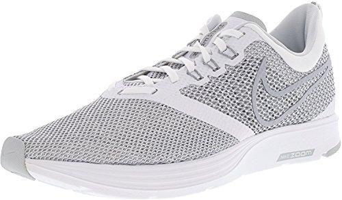 Sneakers Strike NIKE 001 Grey Blanc Wolf Basses Zoom White Homme qS5Ewv7C