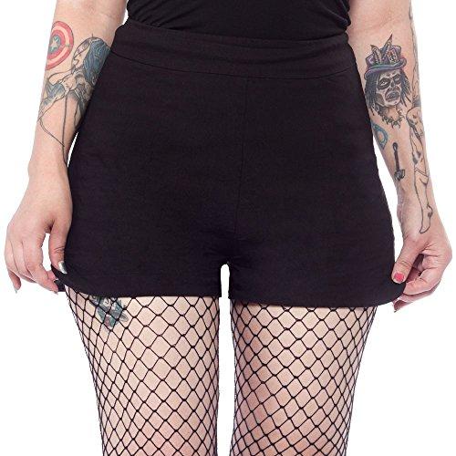 Sourpuss-Sweetie-Pie-Shorts-Black