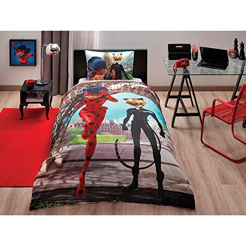 Amazoncom Bekata Miraculous Ladybug In Paris Bedding Set Kids