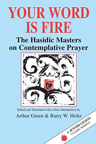 Your Word Is Fire: The Hasidic Masters on Contemplative...