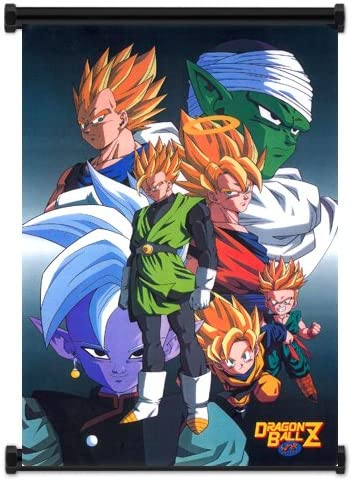 Amazon Com Dragon Ball Z Anime Fabric Wall Scroll Poster 16x23 Inches Wp Dragonballz 93 Posters Prints