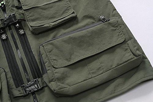 al bolsillo Chaleco aire Hombres libre Multi Fotograf dgwRdqA