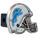 Great American Products NFL Detroit Lions Metal Helmet Trailer Hitch Cover