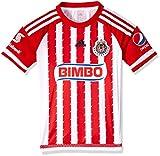 Adidas Jersey  Chivas Guadalajara H JSY Y para Jóvenes, Color Rojo, Talla L