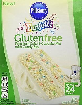Pillsbury Funfetti Gluten Free Cake and Cupcake Mix (Bundle of 2)