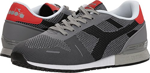 Diadora Unisex Titan Weave Gray/Black 12.5 Women/11 Men M US