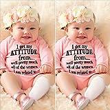 Newborn Infant Baby Girls Cotton Bodysuit Romper