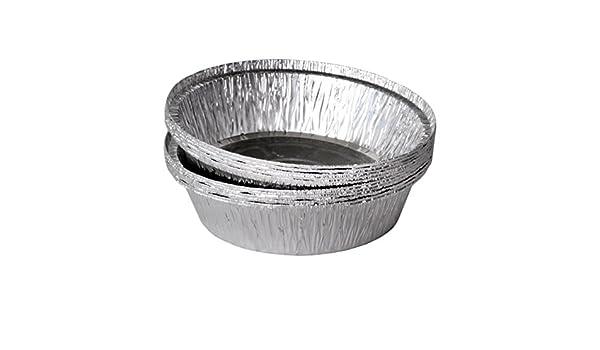 100 bandejas de aluminio redondo modelo