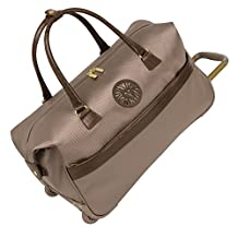 Anne Klein Newport Wheeled Bag, Taupe, One Size