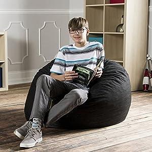 Denim 3-foot Bean Bag Chair