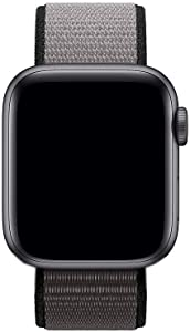Tosembo Nylon Bands Compatible with Apple Watch Band 38mm 40mm 42mm 44mm,Nylon Replacement Band Compatible for Apple Watch Series 6/5/4/3/2/1