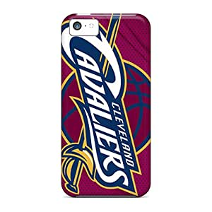 Perfect Hard Cell-phone Case For Iphone 5c With Custom Attractive Cleveland Cavaliers Image CristinaKlengenberg