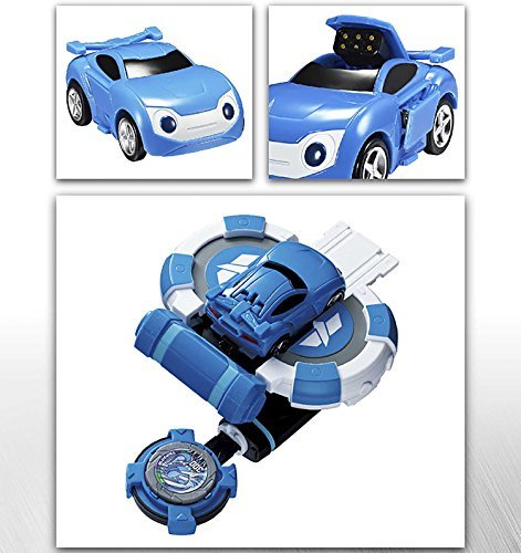 NEW Watch Car Power Coin Battle Shooting car Toy Blue will Children Kids Gifts /ITEM#G839GJ UY-W8EHF3188518 by WATER FANJOSE
