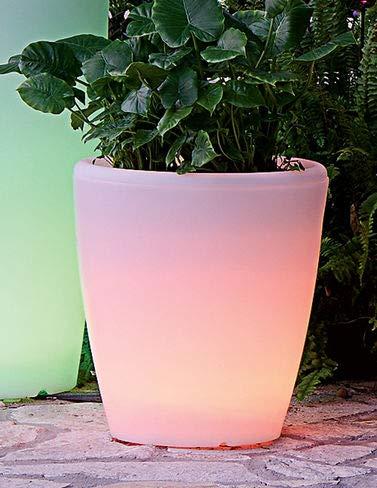 (Solar Illuminated Planter,)