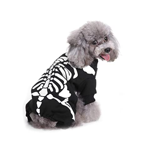 dianqin14 Halloween Mascotas Ropa para Perros Horror ...