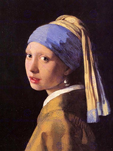 Girl with a Pearl Earring (Painting) painted by Johannes Vermeer