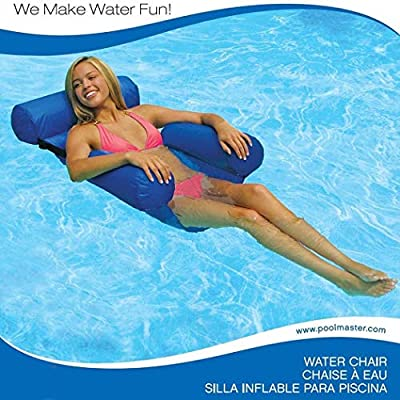 sohune Floating Chair Swimming Pool Seats Inflatable Lazy Bed Lounge Chairs: Home & Kitchen