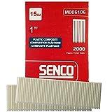 Senco M006106 2000pk 1'' Leg 15 Gauge Plastic Composite Finish Nail