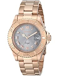 Invicta Womens 14368 Angel Analog Display Swiss Quartz Rose Gold Watch