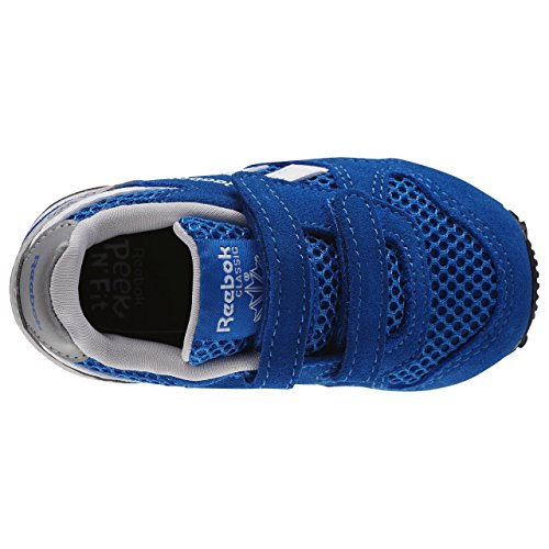 Reebok GL 3000 TD, Zapatos de Primeros Pasos Unisex Bebé, Rosa/Blanco/Gris (Solar Pink/White/Steel), 22 EU