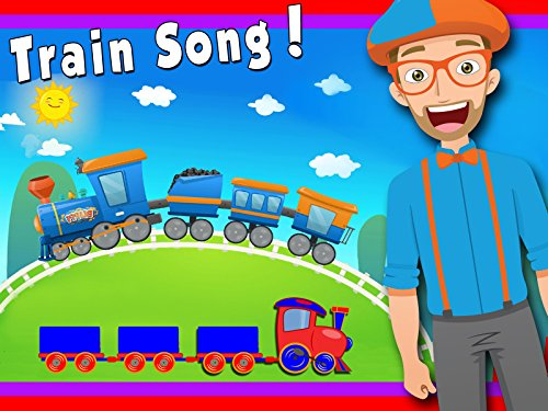 Short Halloween Rhymes For Kids (Train Song by Blippi - Trains for)