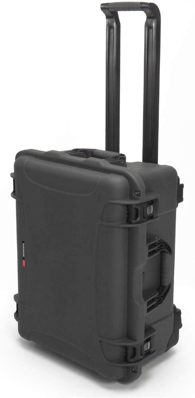 Nanuk 950 Waterproof Hard Case with Wheels Empty - Graphite