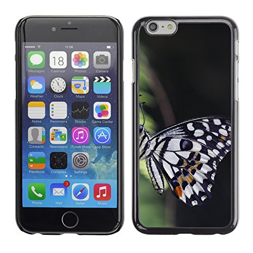 Premio Sottile Slim Cassa Custodia Case Cover Shell // F00012173 papillon // Apple iPhone 6 6S 6G 4.7""
