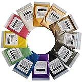 Mica Powder Pure 50 Color Epoxy Resin Pigment -...