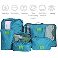 IMEEA Varisized Light Organizer Storage Luggage Bags for Travel Camping for Clothing Cosmetics Shoes Socks Underwares...