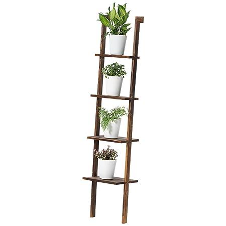 Flower Stand Best Shelves Holzregal 4 Tier Blume Ausstellungsstand