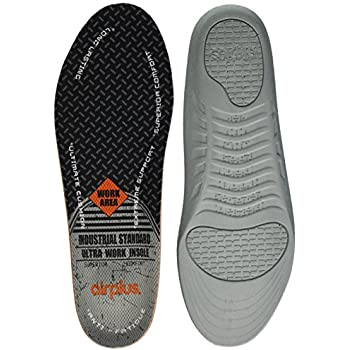 Airplus Ultra Work Memory Plus Shoe Insoles For All Day Comfort /& Foot Pain New