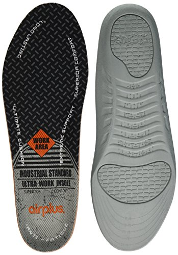 Airplus Ultra Work Memory Plus Shoe Insoles for All Day Comfort and Foot Pain Relief, Mens, Size 7-13 Memory Insoles